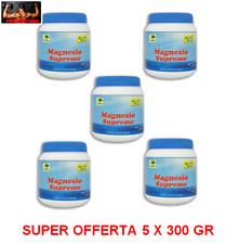 MAGNESIO SUPREMO NATURAL POINT 5 x 300 GR - RIGENERANTE PSICO FISICO