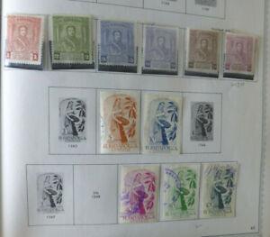 El Salvador 1900-1964 Mint & Used from earlies inc 4Min sheets NHM
