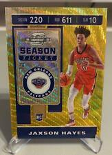 Jaxson Hayes 19-20 Optic Contenders TMall Rookie GOLD Wave Pelicans RC SSP #126