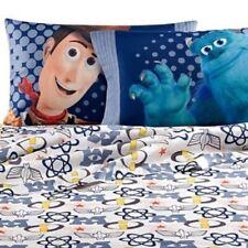 Disney Pixar Patchwork Sheet Set - Toy Story - Monster Inc -FULL SIZE