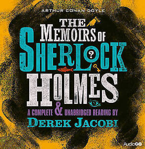 The Memoirs of Sherlock Holmes (BBC Audiobooks) -  8 X CD #JH11