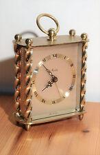 Ältere hochwertige kleine Tischuhr Mauthe Wecker Uhr Vintage alarm clock  ~50er