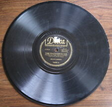 "Helen Forrest - 78 rpm - ""Time Waits For No One"" / ""In A Moment Of Madness""  VG-"