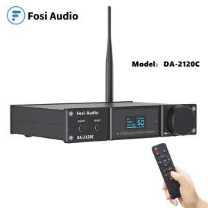 Fosi Audio DA2120C Amplifier w/Bluetooth -120W@4ohm x2 Stereo Hi-Fi[Upgraded]