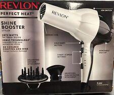 Revlon Perfect Heat 1875W Shine Booster Styler Hair Dryer
