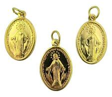 "MRT Miraculous Medal Lot Of 3 Blessed Virgin Mary Pendant Embossed Aluminum 1"""
