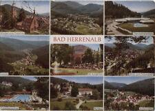 Alte Postkarte - Impressionen von Bad Herrenalb