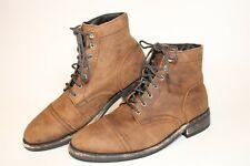Thursday Mens Size 10 M Captain Leather Lace Up Cap Toe Ankle Boots 20071