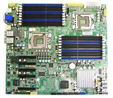 Tyan S7012 Motherboard Dual LGA1366 2x E5506 4Cores 18 Slot DDR3 IPMI S7012GM4NR