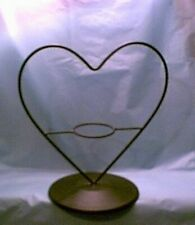 Heart Centerpiece for Flower Pot Votive Glass #JJ-742 (NWT)