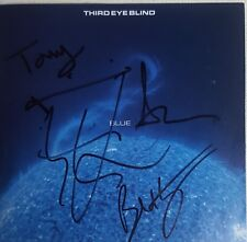 """Third Eye Blind """"BLUE"""" SIGNED Stephan Jenkins,Brad Hargreaves, Tony and 1 other"""