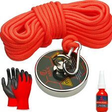 Fishing Magnet Kits By Maxmagnets Premium Neodymium Recovery Set With Rope