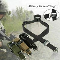 47inch Adjustable Hunting Rifle Gun Sling Strap Rope Belt Nylon Quick Detach