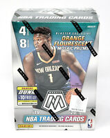 2019-20 Panini Mosaic Basketball Blaster Box Orange Florescent NEW Zion Ja RC Yr