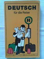 Deutsch für die Reise, DDR-Fachbuch 1985, mehrsprachig deutsch - englisch