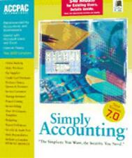 Simply Accounting 7 PC CD small business money financial invoice tracking tools!
