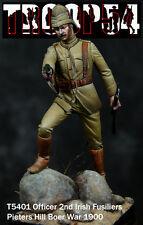 Troop54 Officer Irish Fusiliers Boer War 1900 Unpainted kit 54mm 1/32