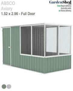 Absco Aviary 1.52m x 2.96m Bird Cage Aviary (OUT OF STOCK)