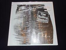 rolling stones  alternate sticky fingers  limited mcv vinyl  sealed  tmoq rare