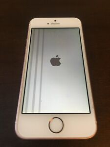 Apple iPhone SE 1st Gen 64GB Smartphone - Rose Gold (Unlocked) Broken Screen