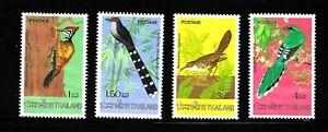 HICK GIRL-BEAUTIFUL M.N.H. THAILAND  SC#784-87  BIRDS ISSUE 1976     X1668