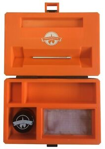 CheekyOne Smokers Club Midi Rolling Station Smoking Box - With FREE Grinder