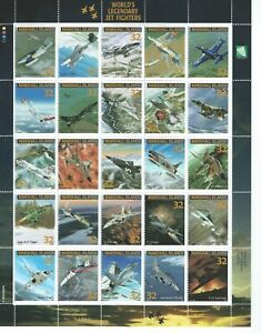 Marshall Islands Sc 600a-y Jet Fighters World's Legendary Me 262-1a Miniature 25