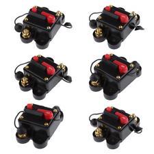 50A-300A Inline Auto Manual Reset Circuit Breaker 12v/24v Car Audio Fuse Holder