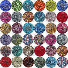 Hot fix Glass Rhinestones Diamante DMC Flat Iron On Beads Nail Art Craft Project