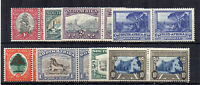 South Africa 1933-48 values to 10s horizontal pairs MLH