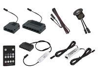 Zubehör für 12V MINI AMP LED Leuchte Lampen Kabel - Trafo Verteiler Netzteil