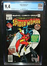 Spider-Woman #1 - New Origin of Spider-Woman - CGC Grade 9.4 - 1978