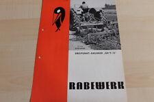 144601) Rabewerk - Dreipunkt-Grubber GR 9 -15 - Prospekt 02/1971
