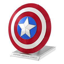 Metal Earth Marvel Avengers Captain America's Shield Steel Model Kit NEW