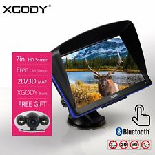 "XGODY 886 7"" 8GB Truck Car GPS Navigation Sat Nav + Reversing View Camera"