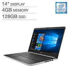 """HP 14"""" Laptop: Core i3-8130U, 128GB SSD, 4GB RAM, 14"""" Full HD, Backlit KB, Win10"""