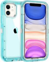 Clear Defender Case For iPhone 11 Pro Max 11 Heavy Duty Hybrid Shockproof Cover
