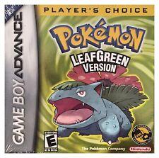Pokemon Leaf Green Version (Game Boy Advance) Brand New Sealed w/H-Seam - Nice