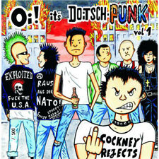 OI! IT'S DOITSCHPUNK Vol.1 Sampler LP (2016 Oi! The Nische) Neu!