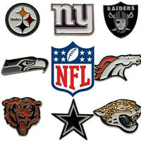 Official NFL American Football Teams Clubs Metal Pin Badges - Licensed Gift