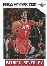 Patrick Beverley NBA Hoops 2015-2016 Trading Card #186 Houston Rockets