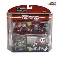 Nightmare Before Christmas Minimates NYCC Exclusive Lock Shock & Barrel Box Set