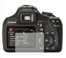 2 Pack Screen Protectors Cover Guard Film For Canon EOS 1100D (Rebel T3)