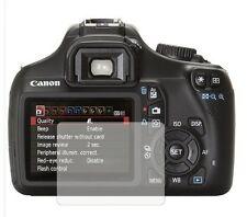 Paquete De 2 Protectores De Pantalla Tapa Protector Film Para Canon Eos 1100d (Rebel T3)