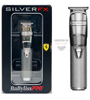 Babyliss Pro FX788S SilverFX Metal Lithium Cordless Trimmer Silver NEW
