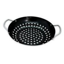 Antihaftbeschichteter Grill-Wok Grillpan Wok Pan Barbecuing Barbecue Barbeque