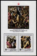 Tschechoslowakei  Bl. 37 **, Briefmarken-Ausstellung Prag 1978, Kunst