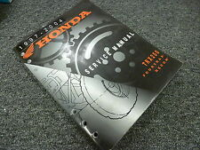2001 2002 2003 2004 Honda TRX250 Fourtrax Recon ATV Shop Service Repair Manual