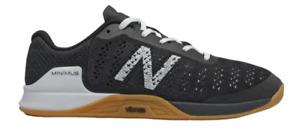 New Balance Men's Minimus Prevail 2E (Wide) Shoe (Black/White/Tan, Size 9 US)
