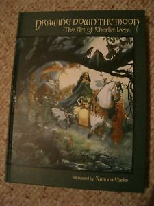 Drawing Down the Moon: The Art of Charles Vess SIGNED Hardcover OOP NM